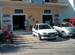 action car and bike rentals votsalakia karlovasi samos island greece
