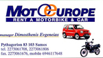 moto europe rent a car pythagotio samos