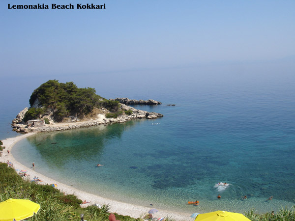 lemonakia beach kokkari samos