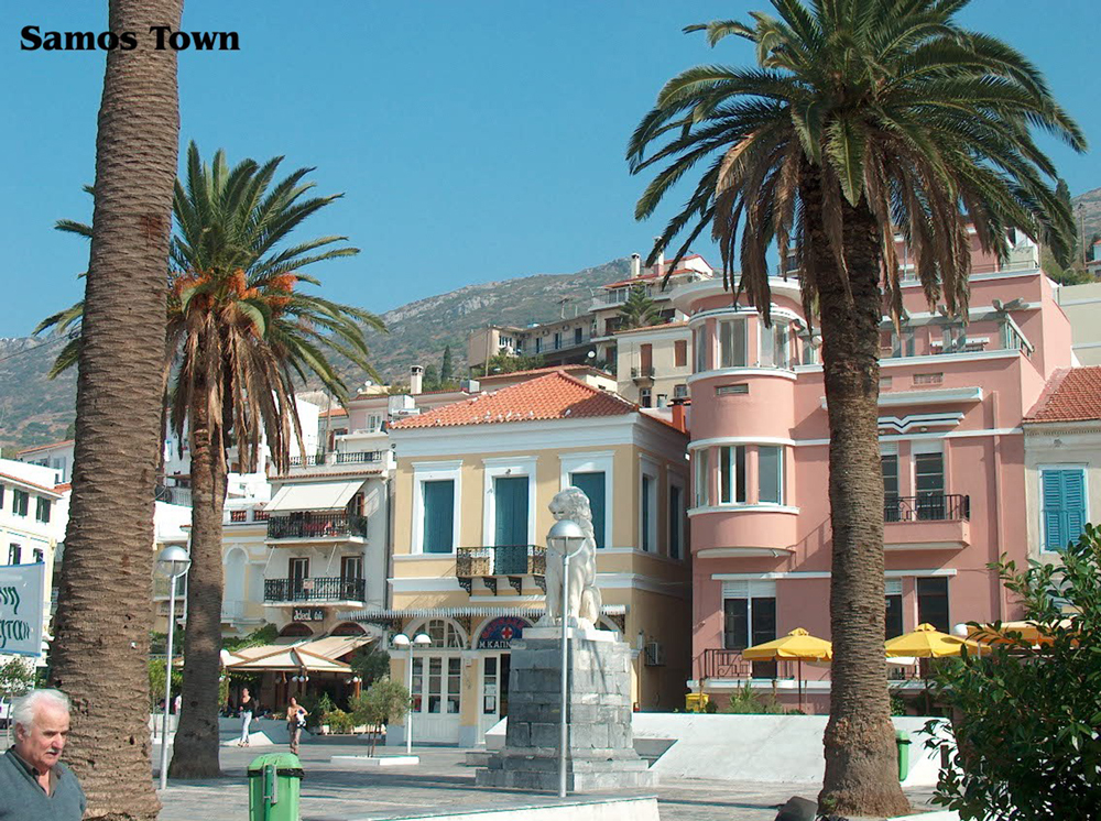 samos town vathi greece