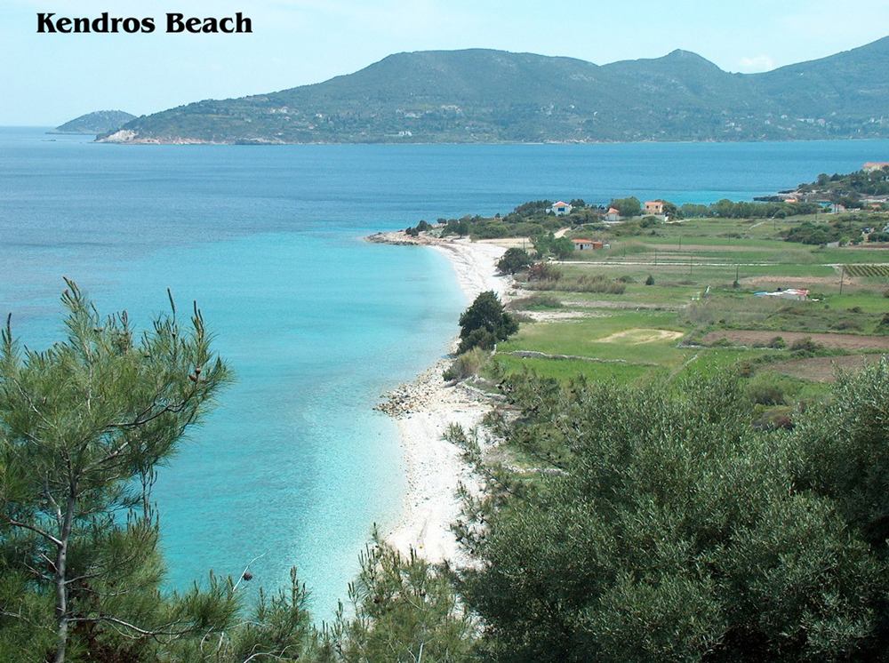 kendros beach samos greece