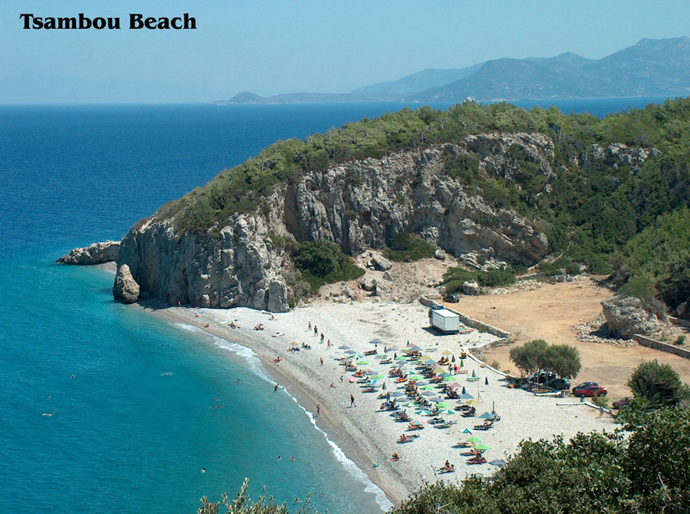 tsambou beach samos greece